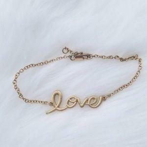 Jewelry - Gold Love bracelet